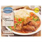 Kershaws Liver & Onion PM £1.79