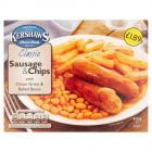 Kershaws Sausage & Chips PM £1.89