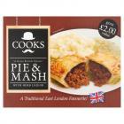 Kershaws Cooks Pie & Mash PM £1.89