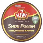 Kiwi Shoe Polish Dark Tan