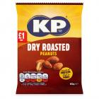 KP Dry Roasted Peanuts PM £1