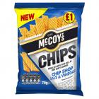McCoys Chip Shop Salt & Vinegar PM £1