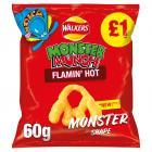 Monster Munch Flamin Hot Snacks £1 PMP