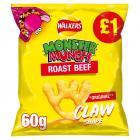 Monster Munch Roast Beef Snacks £1 PMP