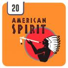 Natural American Spirit Orange - Half Outer
