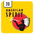Natural American Spirit Yellow - Half Outer