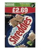Nestle Frosted Shreddies PM £2.69
