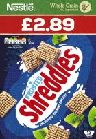 Nestle Frosted Shreddies PM £2.89