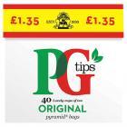 PG Tips Tea Bags PM £1.35