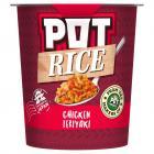 Pot Rice Chicken Teriyaki