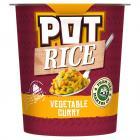 Pot Rice Indian Curry