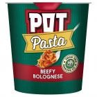 Pot Pasta Beefy Bolognese PM £1.39