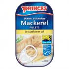 Princes Mackerel Fillets in Sunflower