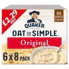 Quaker Oats So Simple Original Sachets PM £2.29