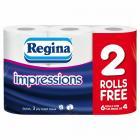 Regina Impressions Toilet Rolls PM £2.50