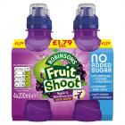 Robinsons Fruit Shoot Blackcurrant and Apple PM £1.79
