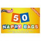 Safewrap 50 Nappy Bags
