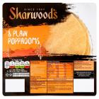 Sharwoods 8 Plain Poppadum