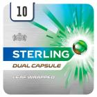 Sterling Dual Capsule Leaf Wrapped Cigarello Half Outer PM £4.50