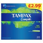 Tampax Compak Super PM £2.99