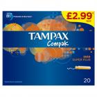 Tampax Compak Super Plus PM £2.99