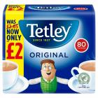 Tetley Tea Bags PM £2
