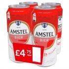 Amstel Lager   PM  £4.75