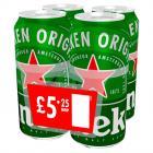 Heineken Lager  PM 4 for £5.25