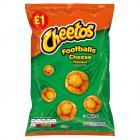 Cheetos Footballs Cheese    PM  £1