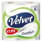 Velvet Comfort White PM £2.25