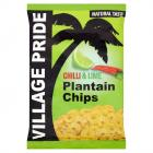 Village Pride Plantain Chips Chilli & Lime