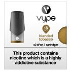 Vype E-Pen 3 Refill Caps Blended Tobacco 18mg