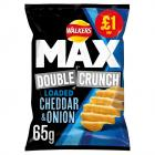 Walkers Double Crunch C/O PM £1