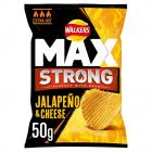 Walkers Max Strong Jalapeno and Cheese
