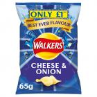 Walkers Cheese & Onion PM £1