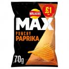 Walkers Max Paprika PM £1