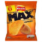 Walkers Max Paprika PM £1