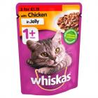 Whiskas Pouch Chicken PM 3 for £1.19