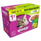 Whiskas Selection Fish & Meat PM £3.75