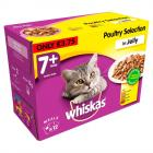 Whiskas Pouches 7+ Poultry Selection in Jelly PM £3.75