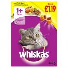 Whiskas Dry Chicken PM £1.19