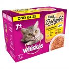 Whiskas Pure Delight Pouches 7+ Poultry Selection in Jelly PM £4.25