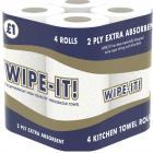 Wipeit Kitchen Towels PM £1