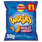 Walkers Wotsits Really Cheesy Snacks £1 PMP