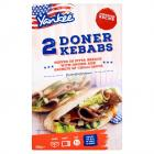 Yankee 2 Doner Meat Strip Kebabs PM £1.79