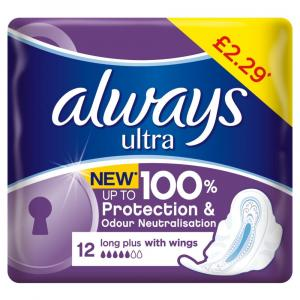 Always Ultra Long Plus PM £2.29