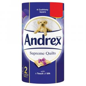 Andrex Quilts Toilet Roll PM £1.29