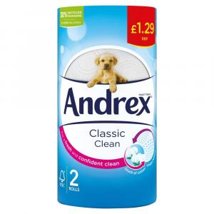 Andrex White Classic Toilet Roll PM £1.29