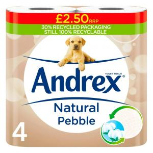 Andrex Natural Pebble Toilet Roll PM £2.50
