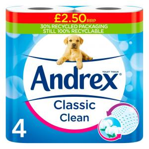 Andrex Classic Clean Toilet Roll PM £2.50